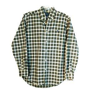 Ralph Lauren plaid button down shirt
